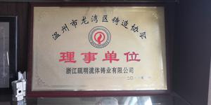 铸造协会理事单位2011